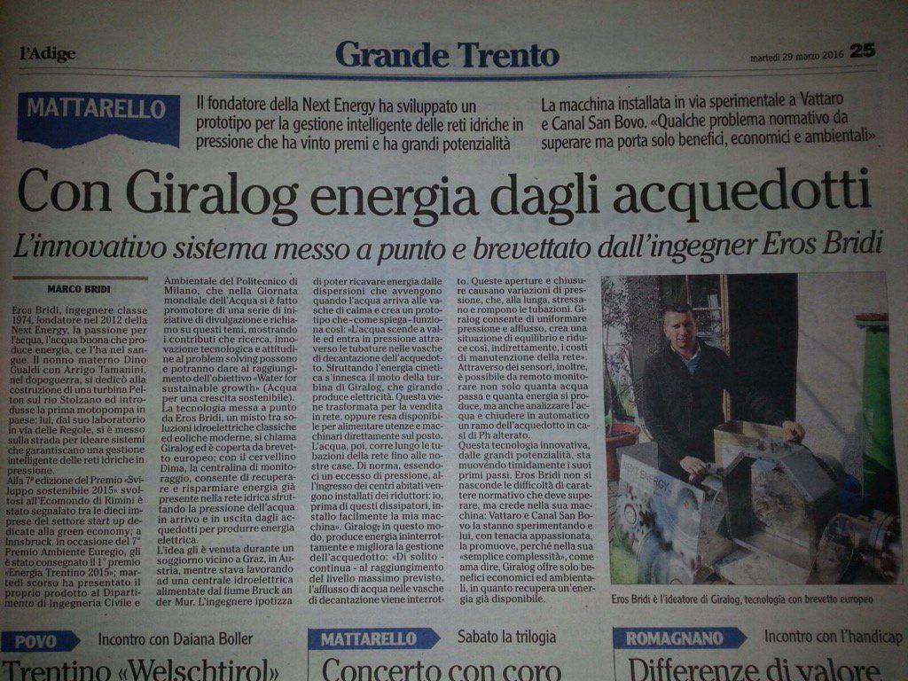 Articolo L Adige